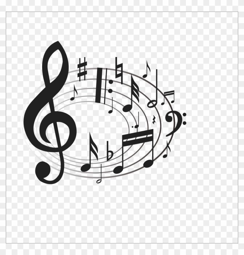 Choir Singing Gospel Music Clip Art - Venzhe 2016 New Design Beautiful Music Notes Pillow #9226