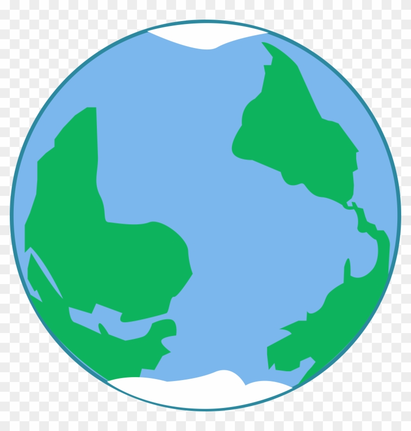 Planets Clipart Earth Map - Earth Vector Png #9243