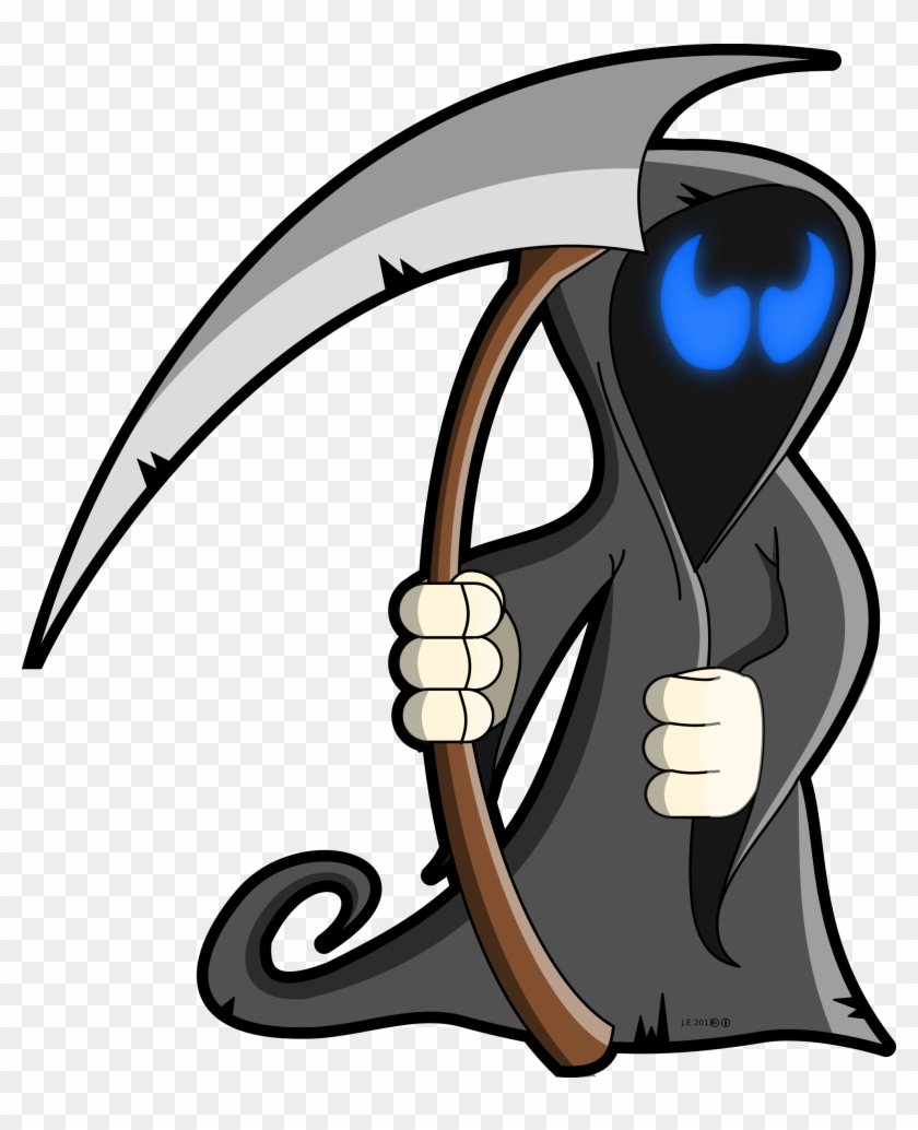 Cartoon Grim Reaper Transparent