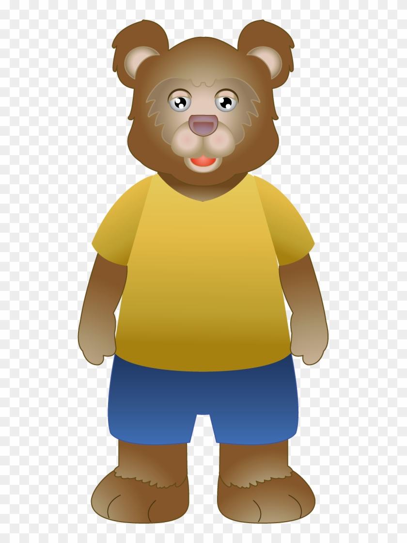 Baby Bear Clipart Free Clip Art Fantasy Sci Fi Fables - Baby Bear From Goldilocks #9253