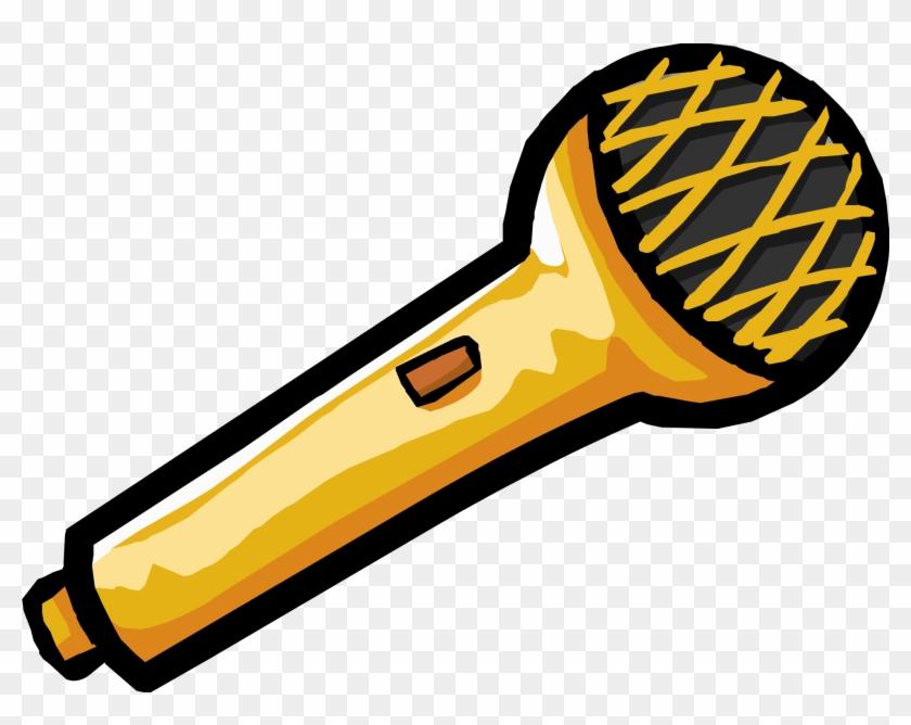 Free Microphone Clip Art - Club Penguin Microphone #9254