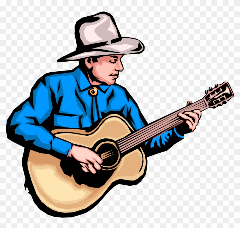 Free Country Clipart Image - Country Music Clipart #9283