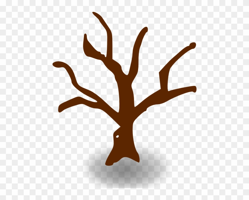 Free Vector Rpg Map Symbols Deserted Tree Clip Art - Tree Graphic Organizer Template #9290