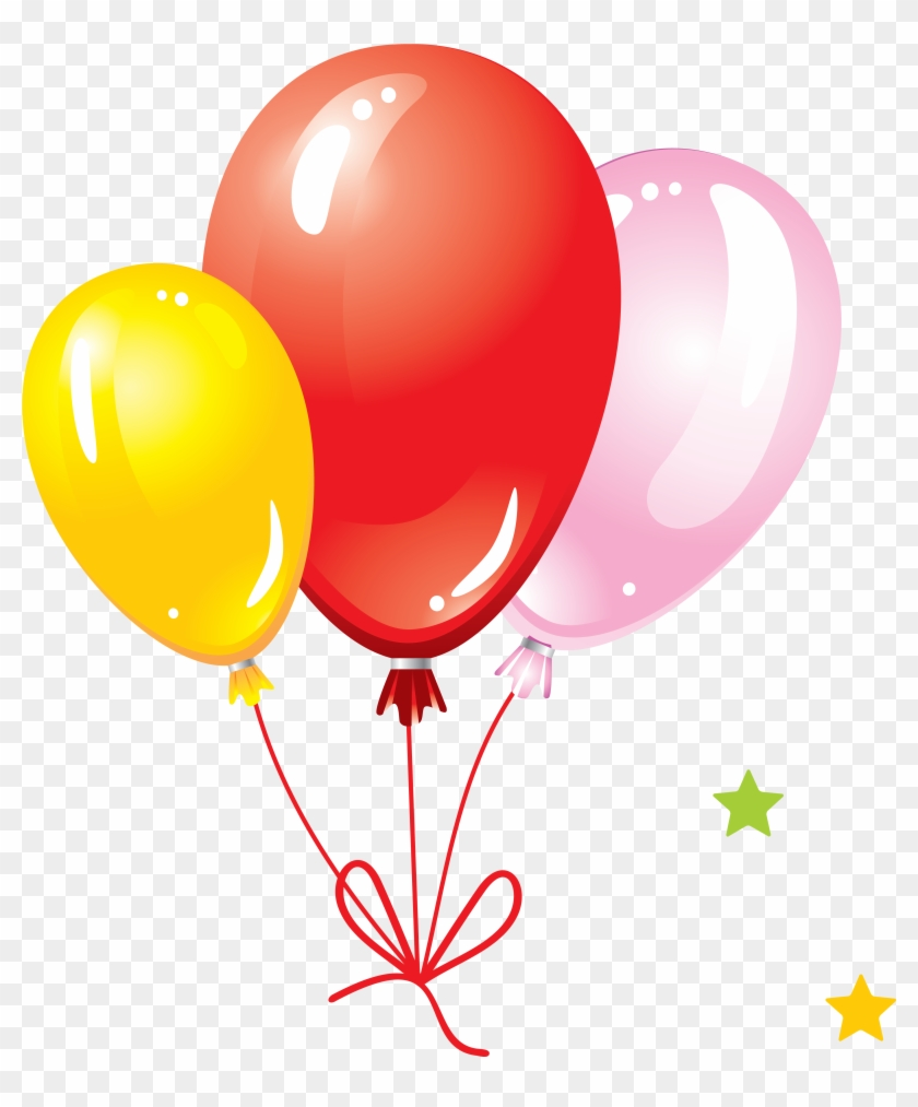 Balloon Png Image, Free Download, Balloons - Birthday With Balloons And Cake #9334