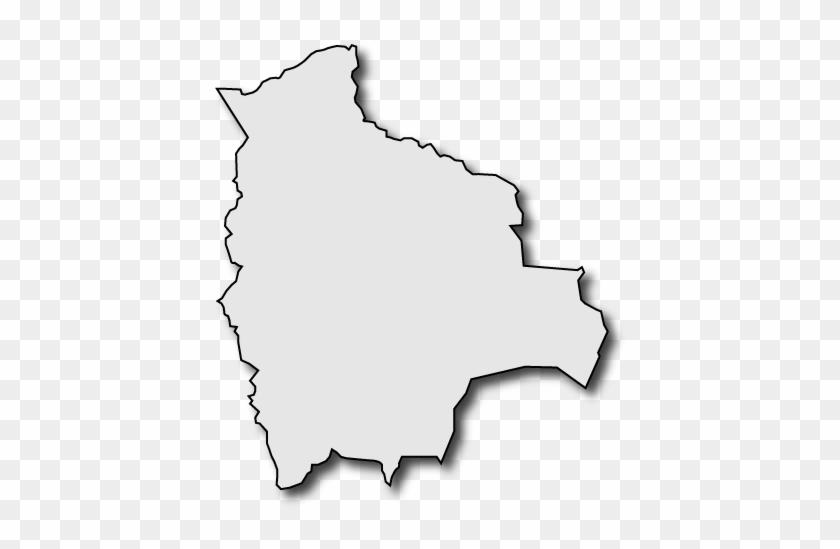Bolivia Clip Art - Bolivia Silhouette Map #9354
