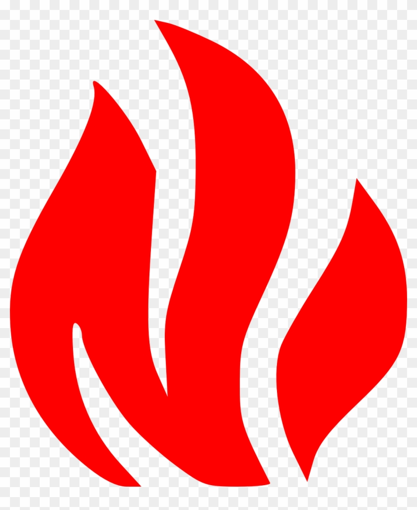 Fire - Safety - Clipart - Fire Symbol #9358
