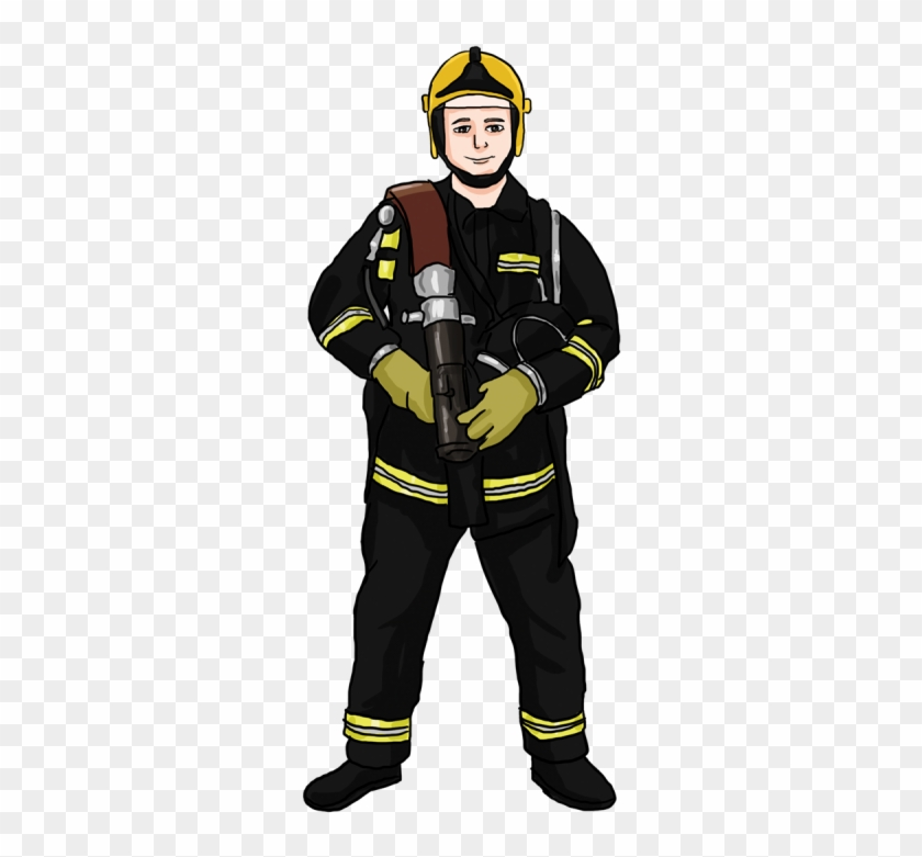 Firefighter Clip Art On Firefighters And Firemen - Fireman Images Free #9375