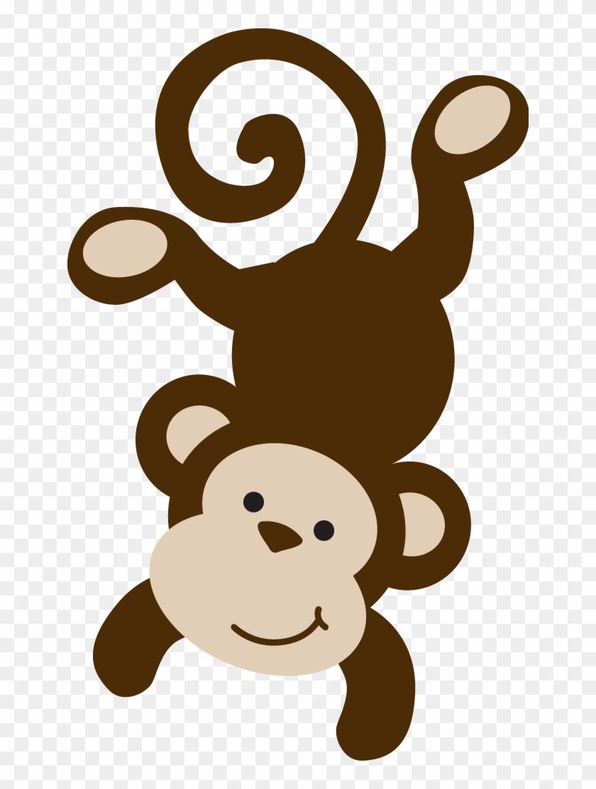 Monkey Clip Art - Molde De Macaco Em Eva #9386