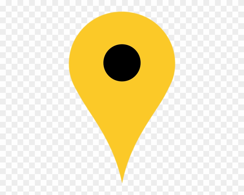 Location Clipart Yellow #9455