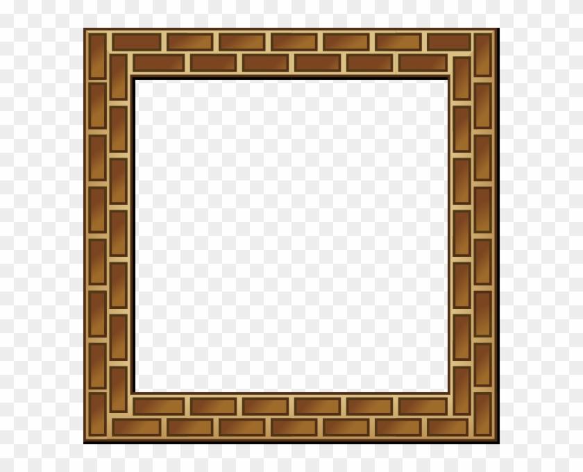 Rpg Map Brick Border Clip Art - Block Border Clip Art #9488