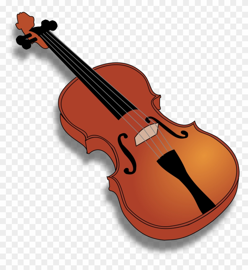 Violin Clip Art - Violin Clip Art #9534
