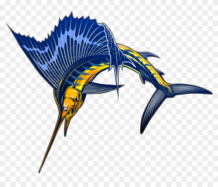 Free Sailfish Clip Art - Sailfish #9567