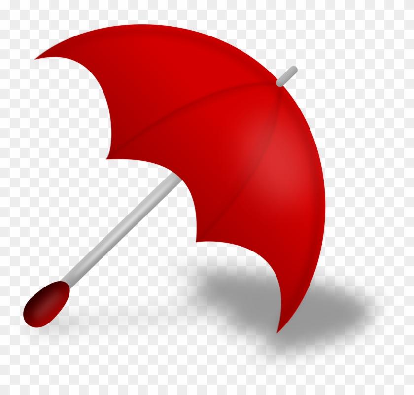 Umbrella Clip Art Outline Free Clipart Images - Red Umbrella Png #9571