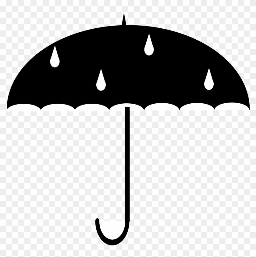 Umbrella Black And White Umbrella Clipart Clipa - Protect From Water. Umbrella. Premium Tee T-shirt #9586