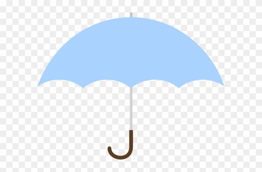 Turquoise Umbrella Clip Art At Vector Clip Art - Blue Baby Shower Umbrella #9589