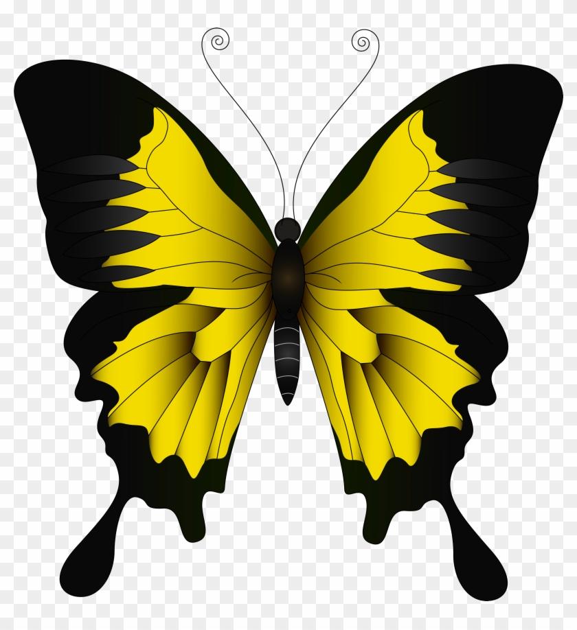 Purple Butterfly Clipart #9628