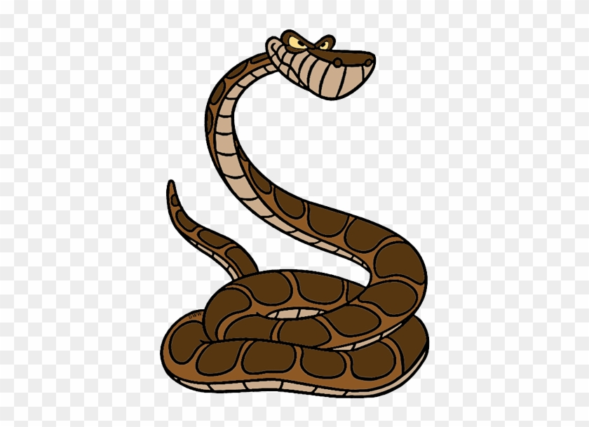 Serpent Clipart Disney - Jungle Book Characters Snake #9611