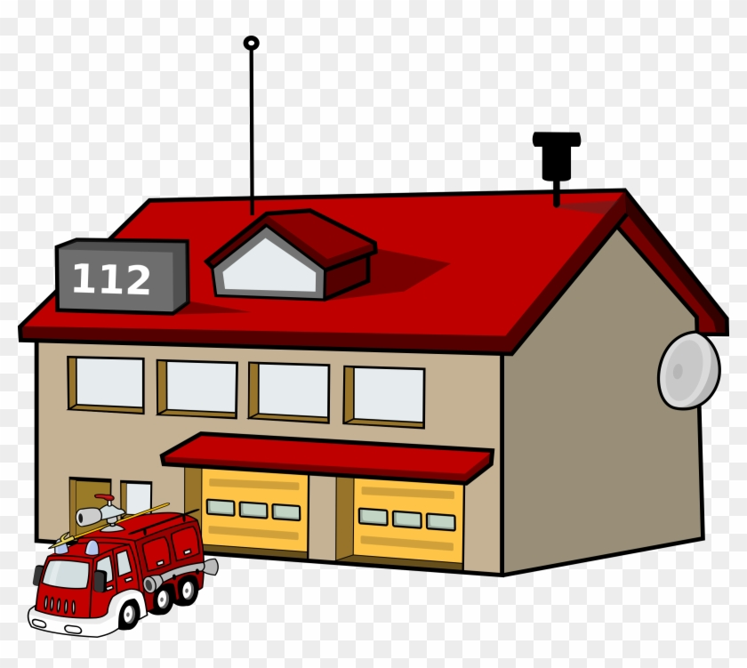 fire station clip art free vector 4vector fire station clipart rh clipartmax com fire department clipart free fire department clipart
