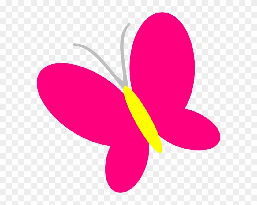 Pink Butterfly Clipart Clipart Panda - Clip Art Butterfly Pink #9659