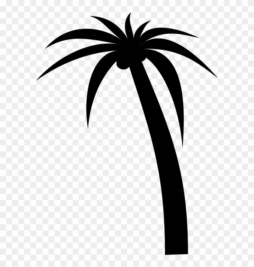 Clipart - Palm Tree - Date Tree Clip Art #9665