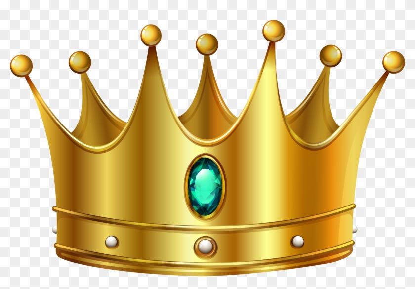 Gold Crown Clipart No Background Clipart - Transparent Crown #9678