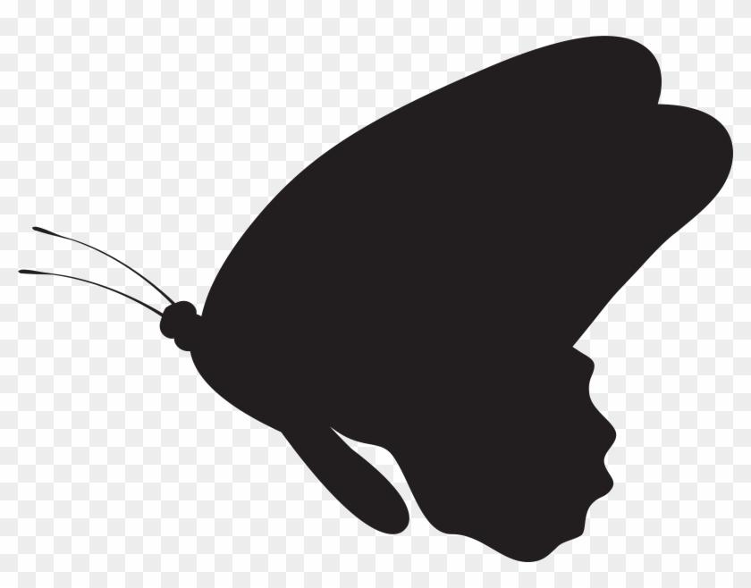 Butterfly Silhouette Png Clip Art Imageu200b Gallery - Butterfly Silhouette Clip Art #9741