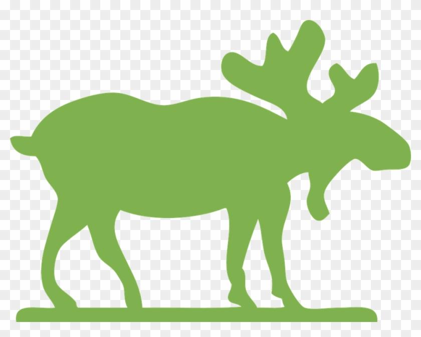 Moose Clip Art #9716