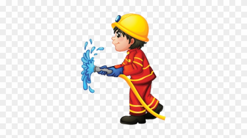 Fireman Firefighter Cartoon Fire Fighter Clip Art - Firemen Clipart #9723