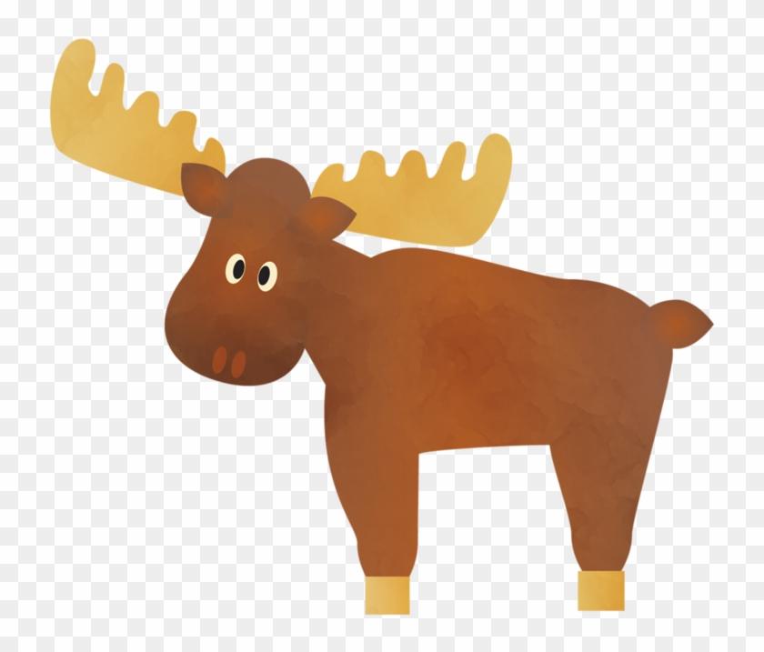 Moose - Clip Art #9725