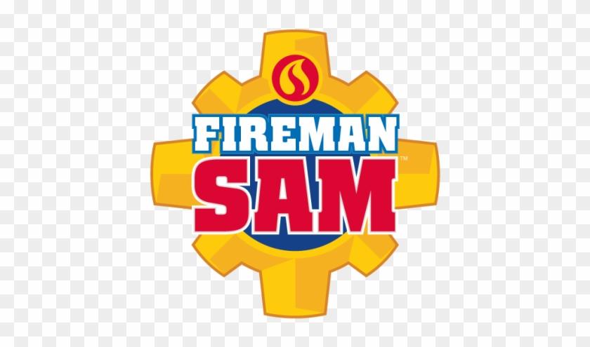 Fireman Sam Action Toy Figurines Distributed Big Balloon - Big Fireman Sam Logo #9731