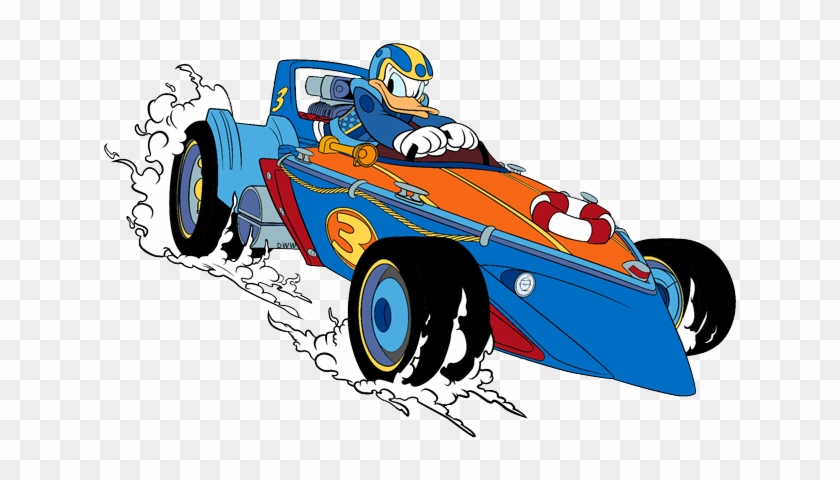 Mickey And The Roadster Racers Clip Art Images Donald Duck