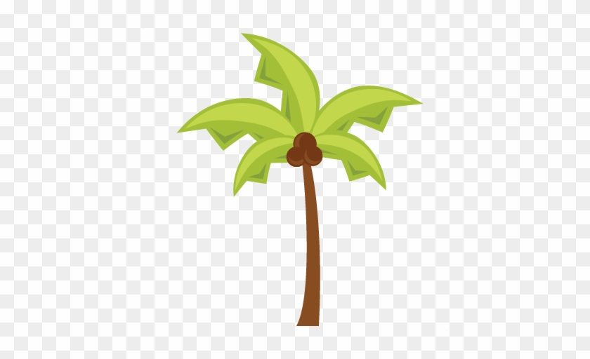 Beach Icons Palm Tree Svg Cuts Scrapbook Cut File Cute - Tree #9766