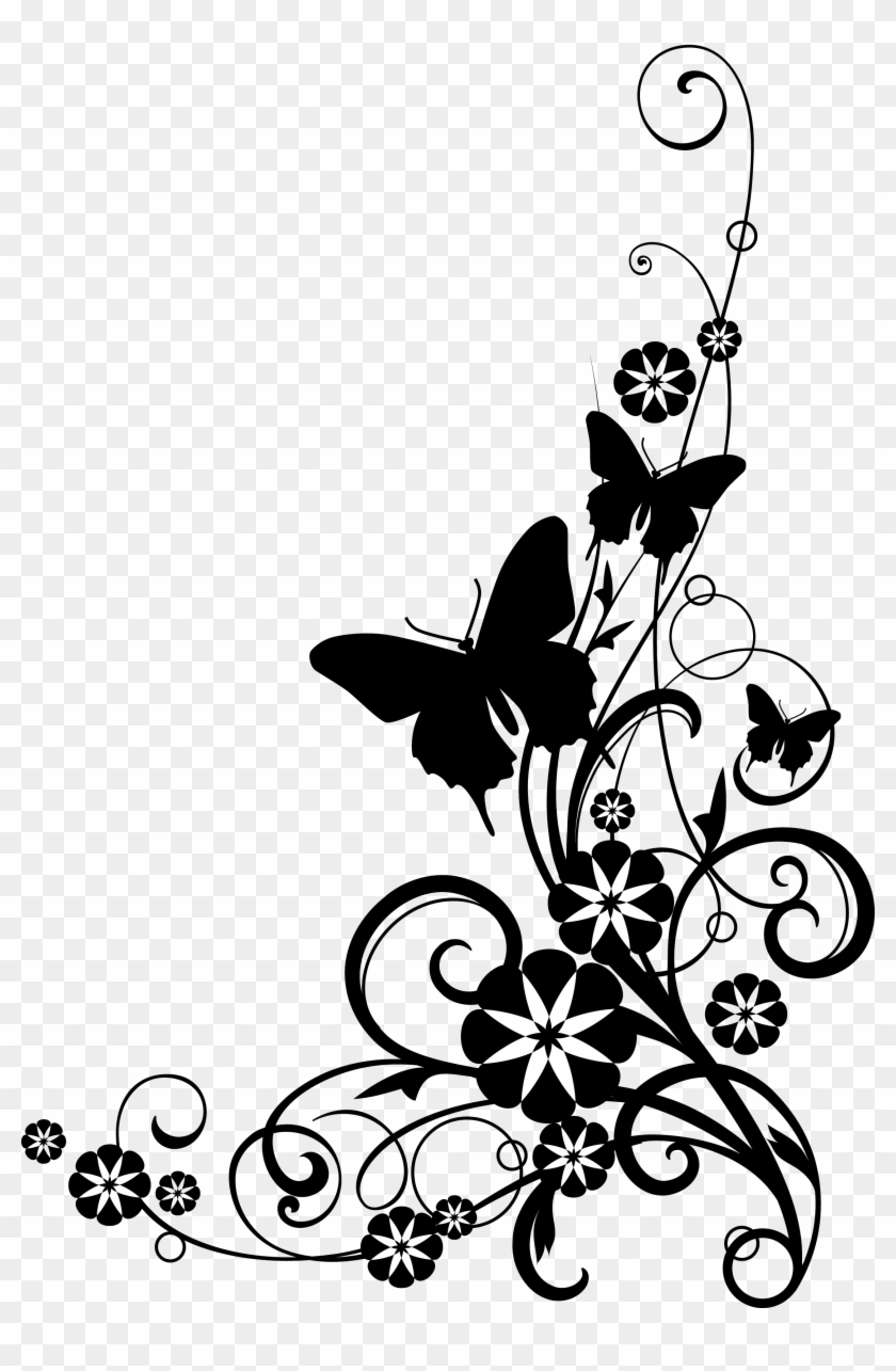 Images For Simple Butterfly Drawings Black And White - Those We Love Don T Go Away #9784
