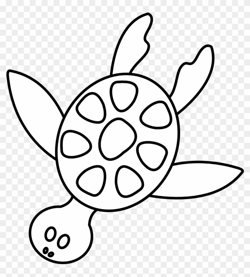 Clipart Turtle Black And White Images Pictures - Clipart Turtle Black And White Images Pictures #9789