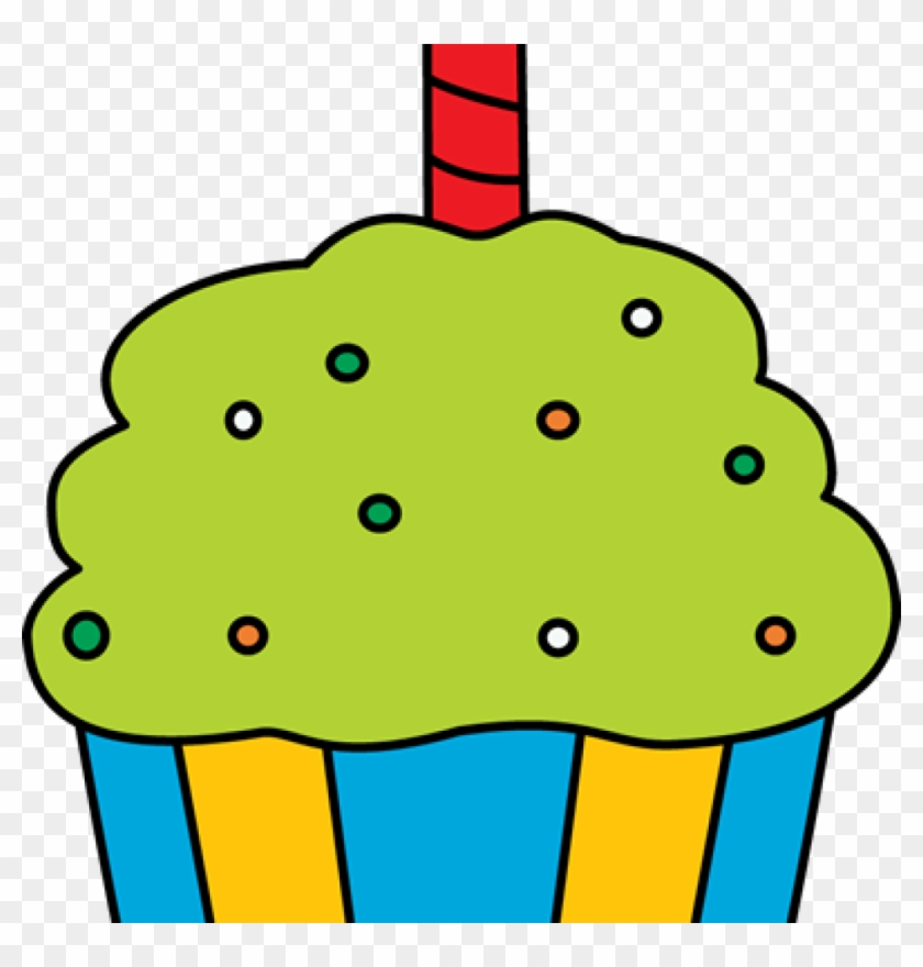 Birthday Cupcake Clipart Birthday Cupcake Clip Art - Cupcake #9834