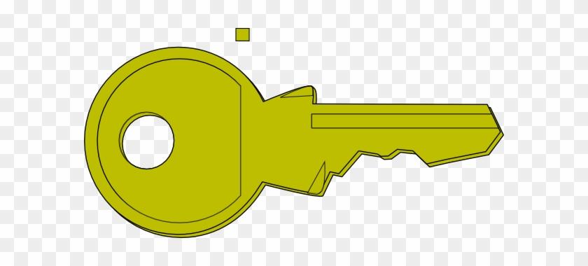Lock Key Clipart #9870