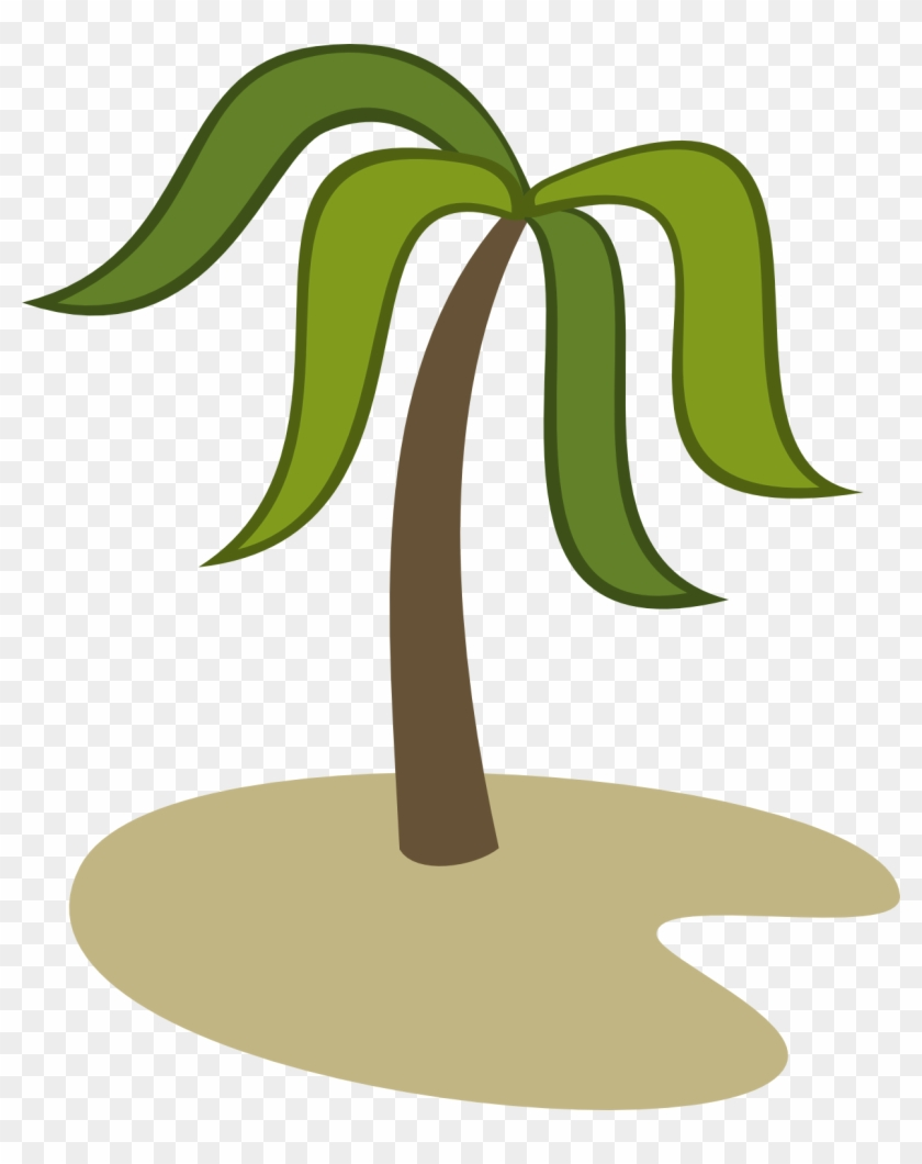 Palm Tree Sand - Island Cutie Mark #9881