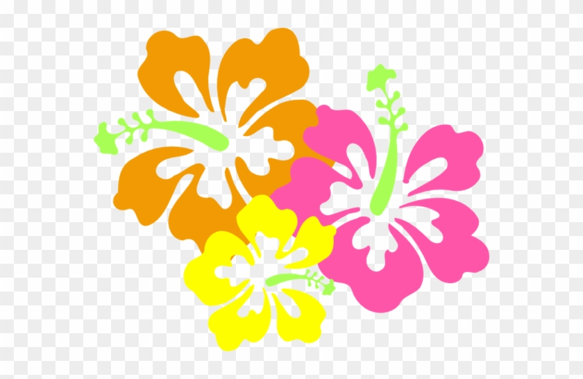 Hawaiian Luau Clip Art Border Clipart Free To Use Clip - Hibiscus Clip Art #9891