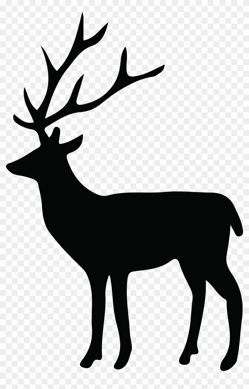 Deer Silhouette Png Transparent Clip Art Imageu200b - Deer Silhouette Png #9905
