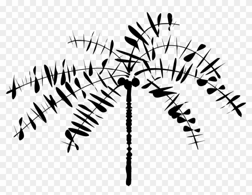 Onlinelabels Clip Art - Coconut Tree Clip Art #9918