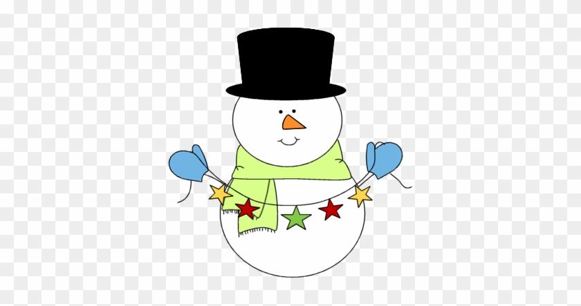 Cute Snowman Clipart Festive Snowman Clip Art Image - Snowman Clip Art Cute #9934