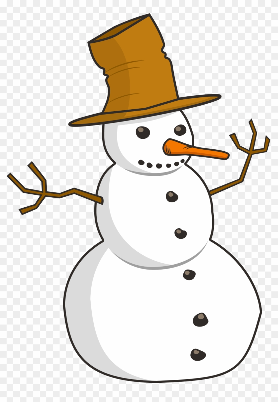 Free Snowman Clip Art Free Clipart Images - Winter Clip Art Png #9969