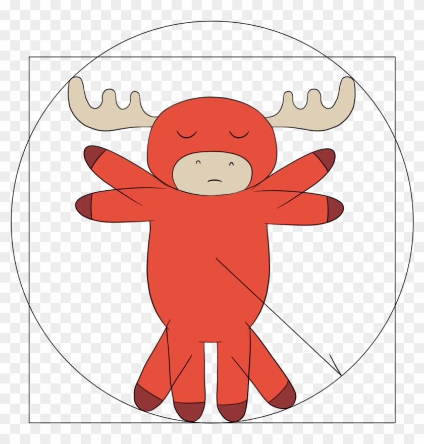 Moose Vitruvian - Transformation Matrix #9988