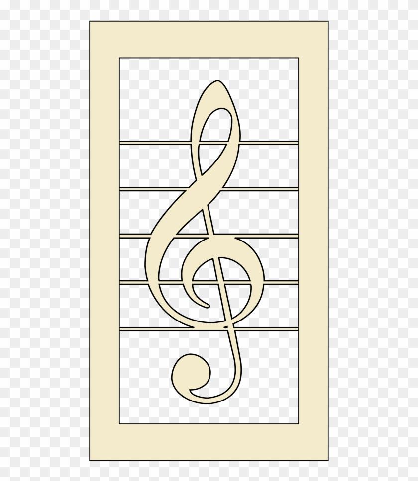 Violin Key Clipart - Mel Bay's Best Student Manuscript Book #9987