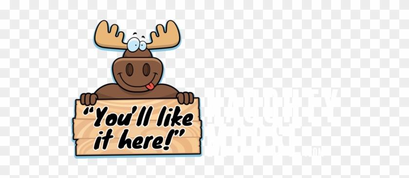 Cartoon Moose #9992