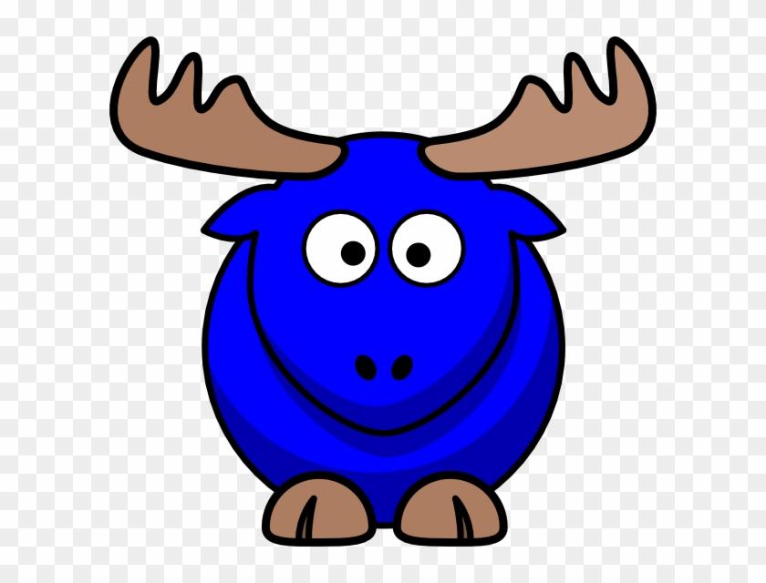 Moose Cartoon #10012