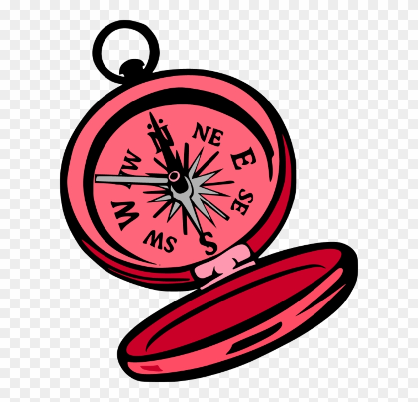 Compass Clip Art Free Download Free Vector Art Image - Campass Clipart #10015