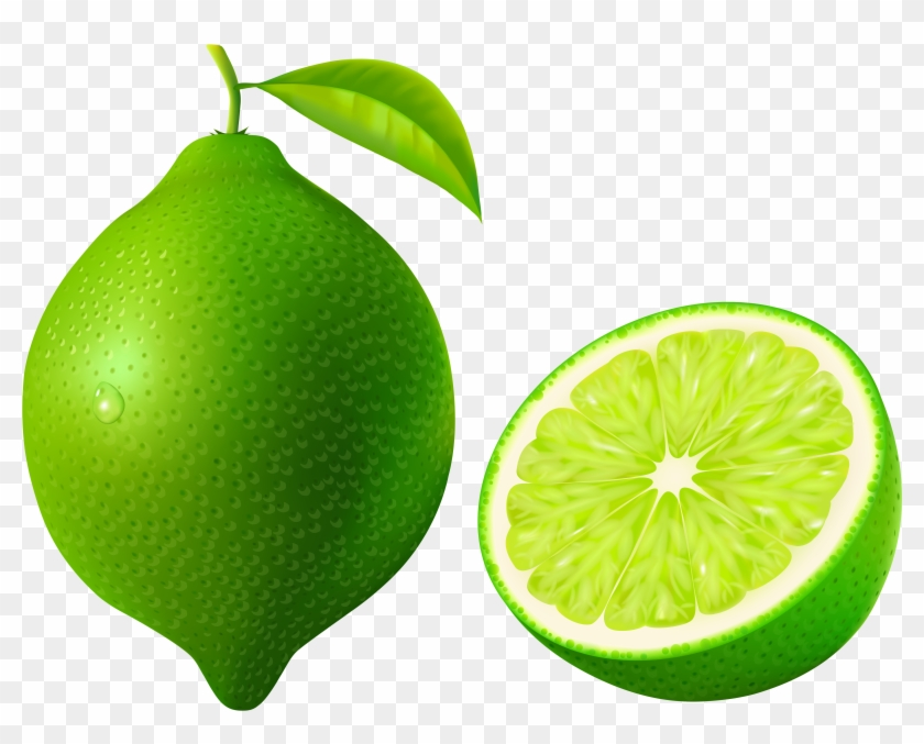 Green Lime Png Vector Clipart Image - Green Lime Png Vector Clipart Image #10032