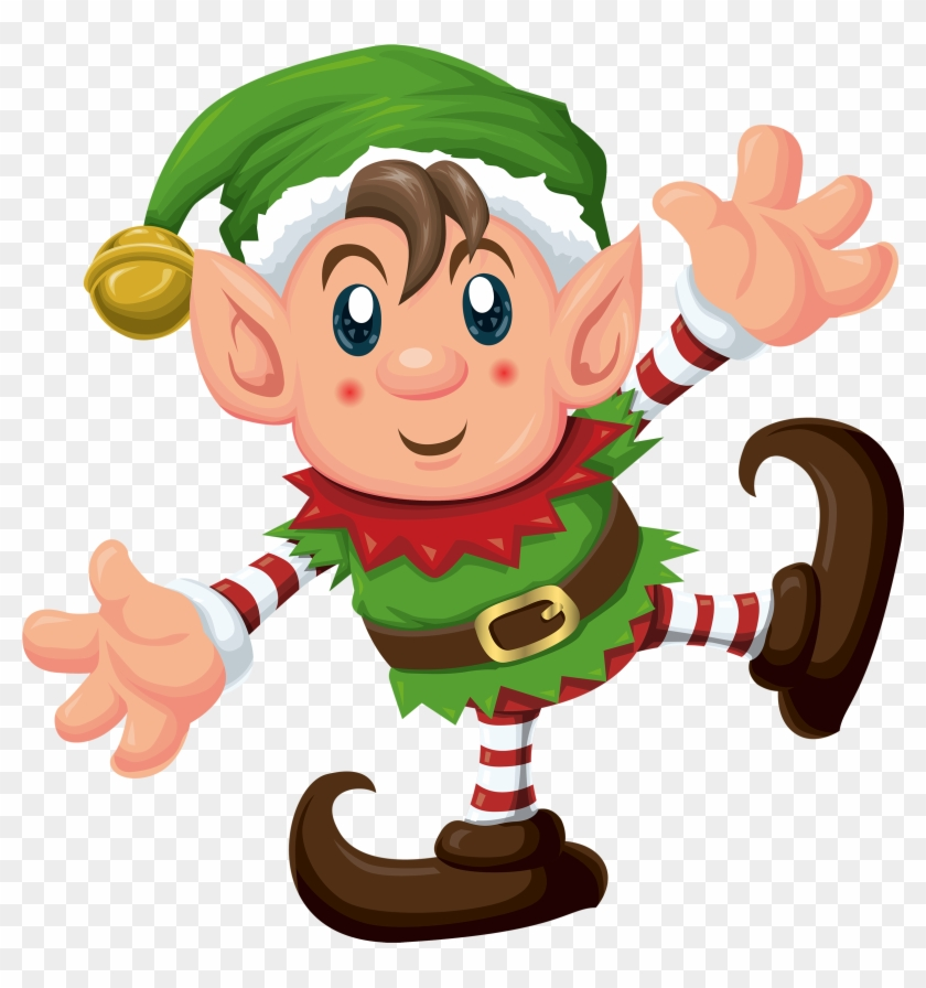 Cute Elf Png Clipart - Christmas Mega Dot-to-dot Book #10026