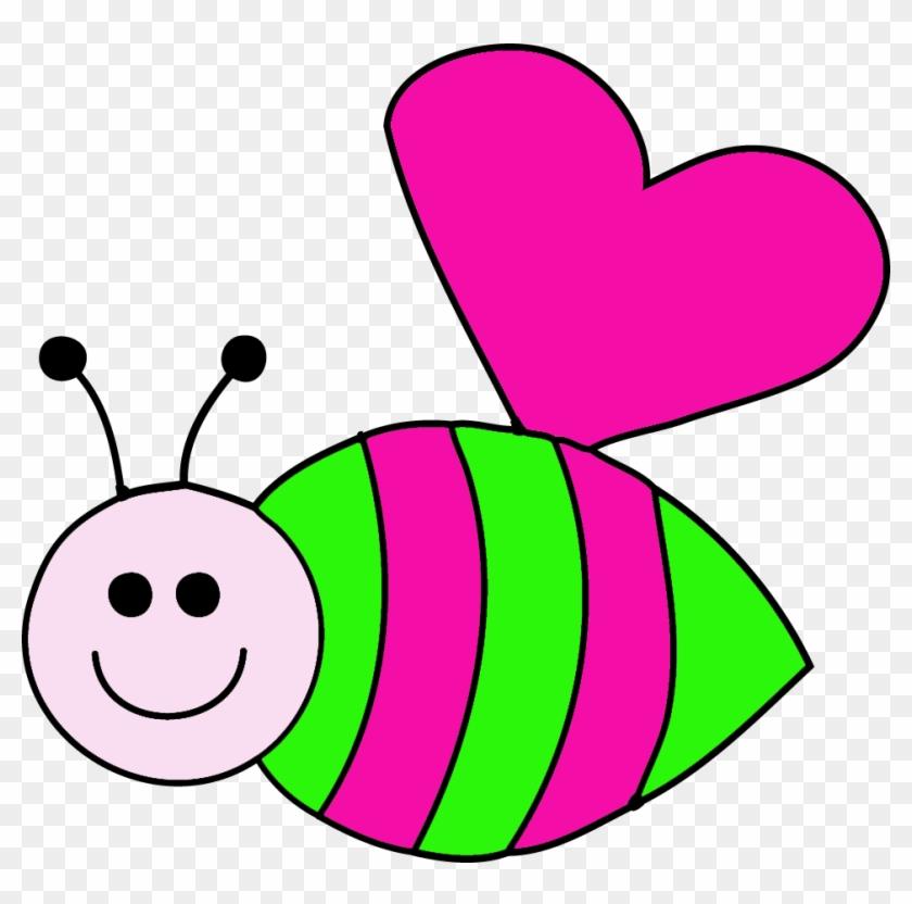 Bee Clip Art - Love Bug Clip Art #10033